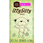 Unity Stamp - Bella Blvd Collection - Itty Bitty - Unmounted Rubber Stamp - Let the Spoiling Begin