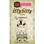 Unity Stamp - Bella Blvd Collection - Itty Bitty - Unmounted Rubber Stamp - Hip Hip Hooray