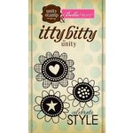 Unity Stamp - Bella Blvd Collection - Itty Bitty - Unmounted Rubber Stamp - Celebrate in Style