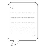 Unity Stamp - Bella Blvd Collection - Itty Bitty - Unmounted Rubber Stamp - Tell Me More