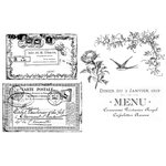 Unity Stamp - Unmounted Rubber Stamp Set - Carte Postale