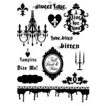 Unity Stamp - Unmounted Rubber Stamp Set - Breathless