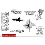 Unity Stamp - Unity Artista Collection - Unmounted Rubber Stamp Set - All About the Journey