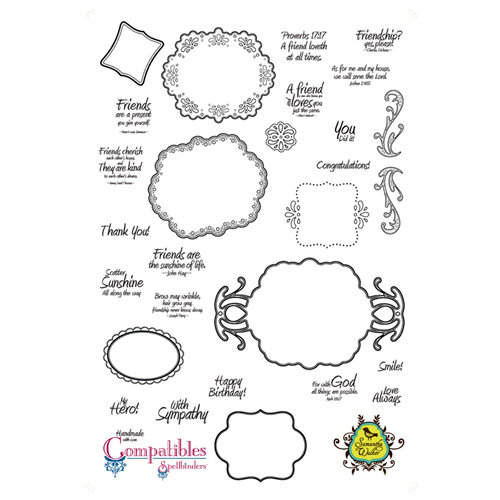 Unity Stamp - Unmounted Rubber Stamp - Ornate Artisan
