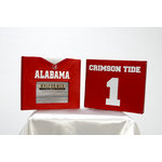 Uniformed Scrapbooks of America - 8 x 8 Photo and Keepsake Album - University of Alabama