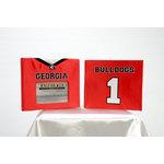 Uniformed Scrapbooks of America - 8 x 8 Photo and Keepsake Album - University of Georgia