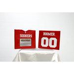 Uniformed Scrapbooks of America - 8 x 8 Photo and Keepsake Album - University of Oklahoma