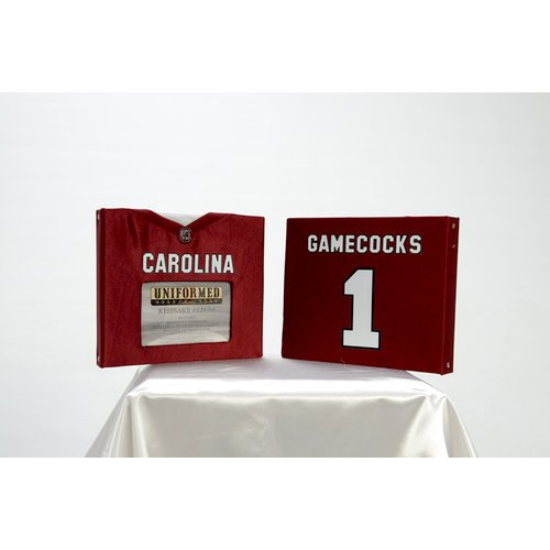 Uniformed Scrapbooks of America - 8 x 8 Photo and Keepsake Album - University of South Carolina