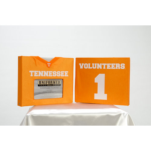 Uniformed Scrapbooks of America - 8 x 8 Photo and Keepsake Album - University of Tennessee