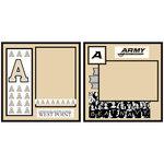 Uniformed Scrapbooks of America - 8 x 8 Page Kit - U.S. Military Academy