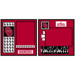 Uniformed Scrapbooks of America - 8 x 8 Page Kit - University of Oklahoma