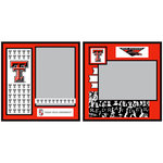 Uniformed Scrapbooks of America - 8 x 8 Page Kit - Texas Tech University