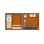 Uniformed Scrapbooks of America - 8 x 8 Page Kit - University of Texas at Austin