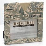 Uniformed Scrapbooks of America -  Single 4 x 6 Frame - U.S. Air Force