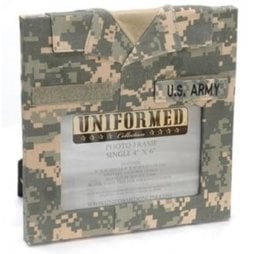 Uniformed Scrapbooks of America -  Single 4 x 6 Frame - U.S. Army
