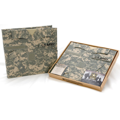Uniformed Scrapbooks Of America Us Army 12 X 12 Album