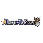 Uniformed Scrapbooks of America - 3 Dimensional Die Cut - Proud to Serve Title - Air Force