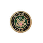 Uniformed Scrapbooks of America - 3 Dimensional Die Cut - Emblem - Army