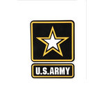 Uniformed Scrapbooks of America - 3 Dimensional Die Cut - Logo - Army
