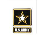 Uniformed Scrapbooks of America - 3 Dimensional Die Cut - Logo - Army