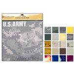 Uniformed Scrapbooks of America - 12 x 12 Paper Pack - U.S. Army