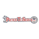 Uniformed Scrapbooks of America - 3 Dimensional Die Cut - Proud to Serve Title - Coast Guard