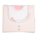Uniformed Scrapbooks of America - 8 x 8 Three Ring Album - Baby Girl