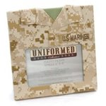 Uniformed Scrapbooks of America -  Single 4 x 6 Frame - U.S. Marine Corps - Desert