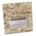 Uniformed Scrapbooks of America -  Single 4 x 6 Frame - U.S. Marine Corps - Desert