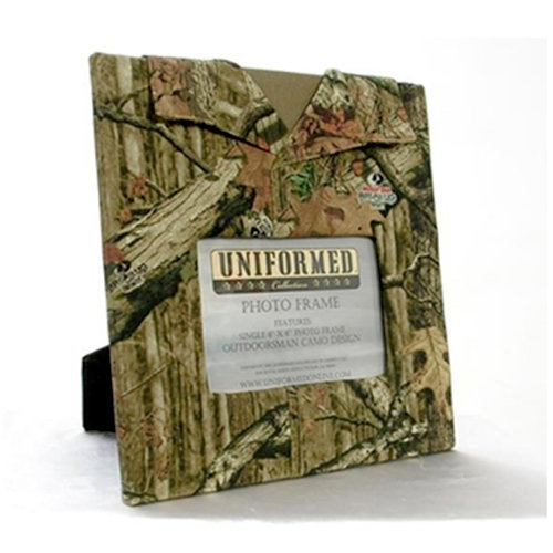 Uniformed Scrapbooks of America - Outdoorsman Collection - Mossy Oak Single 4 x 6 Frame - Infinity Pattern