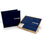 Uniformed Scrapbooks of America - 12 x 12 Postbound Album - Military Uniform Cover - U.S. Coast Guard