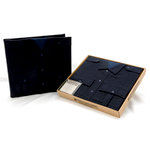 Uniformed Scrapbooks of America - 12 x 12 Postbound Album - Uniform Cover - Police - Dark Navy