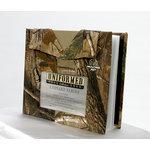 Uniformed Scrapbooks of America - Outdoorsman Collection - Real Tree 8 x 8 Photo and Keepsake Album - AP Pattern