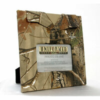 Uniformed Scrapbooks of America - Outdoorsman Collection - Real Tree Single 4 x 6 Frame - Camo Pattern