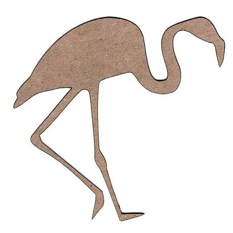 Leaky Shed Studio - Animal Collection - Chipboard Shapes - Flamingo