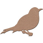 Leaky Shed Studio - Animal Collection - Chipboard Shapes - Putman Bird 1