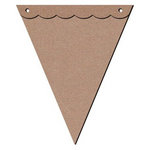 Leaky Shed Studio - Chipboard Banners - Pennant