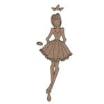 Leaky Shed Studio - Chipboard Shapes - Small - Princess