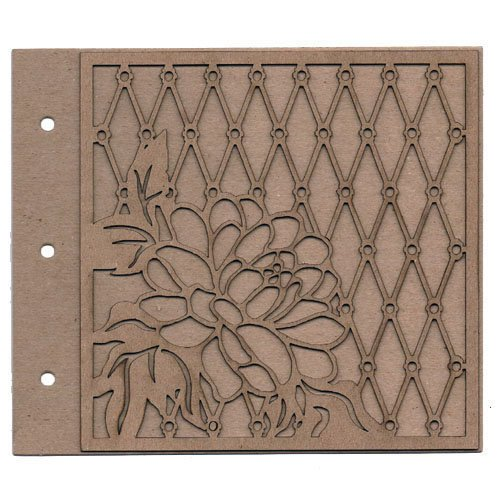 Leaky Shed Studio - Chipboard Albums - Blossom
