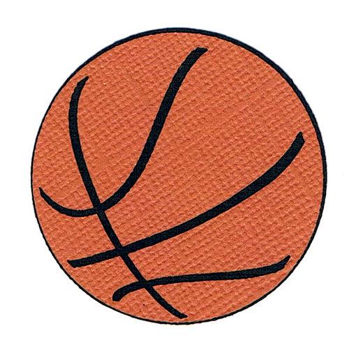 Leaky Shed Studio - Cardstock Die Cuts - Basketball