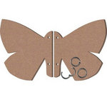 Leaky Shed Studio - Chipboard Albums - Butterfly