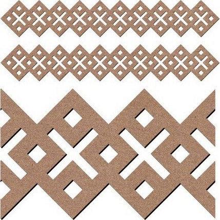 Leaky Shed Studio - Chipboard Shapes - Celtic Border