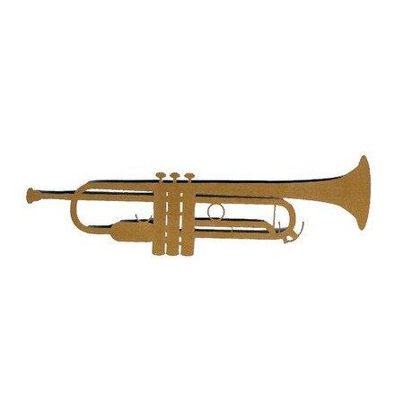 Leaky Shed Studio - Cardstock Die Cuts - Trumpet