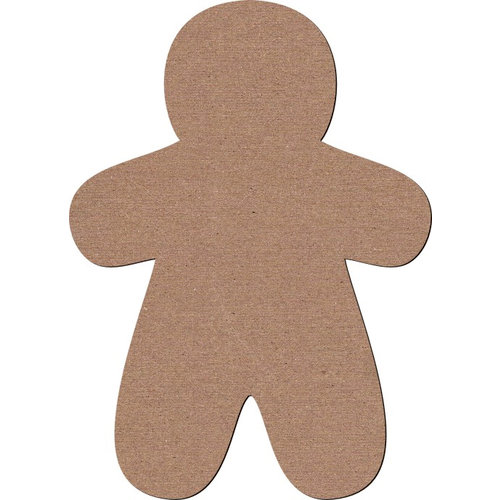 Leaky Shed Studio - Chipboard Shapes - Gingerbread Man