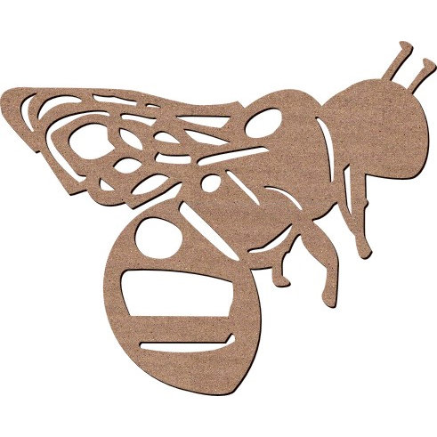 Leaky Shed Studio - Animal Collection - Chipboard Shapes - Spring Bumble Bee