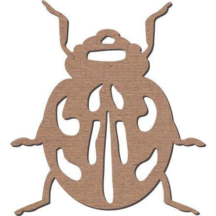 Leaky Shed Studio - Animal Collection - Chipboard Shapes - Spring Ladybug