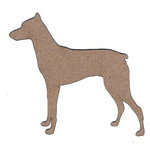 Leaky Shed Studio - Animal Collection - Chipboard Shapes - Doberman