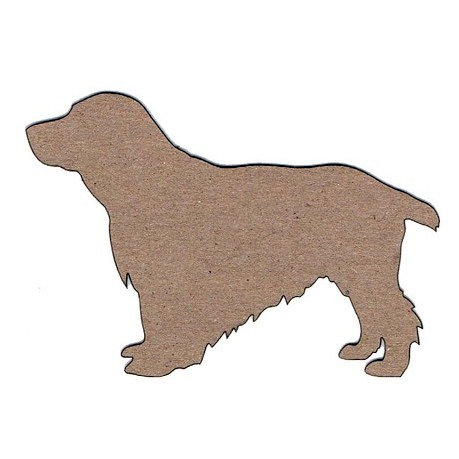 Leaky Shed Studio - Animal Collection - Chipboard Shapes - Springer Spaniel