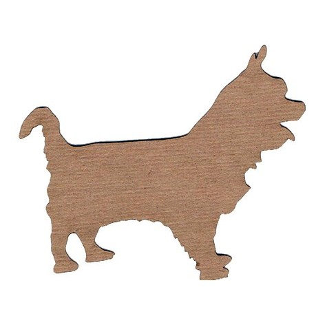Leaky Shed Studio - Animal Collection - Chipboard Shapes - Yorkshire Terrier
