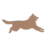 Leaky Shed Studio - Animal Collection - Chipboard Shapes - Collie